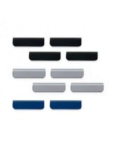 Clip adesiva DURABLE Durafix 60x17 mm assortiti Conf. 10 pezzi - 470900