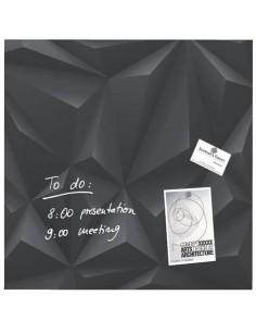 Lavagna magnetica in vetro Artverum SIGEL 480x480x15 mm Black Diamond RGL257