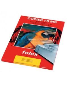 Film per fotocopiatrici monocrom. Folex X-10.0 poliestere traslucido opaco 0,1 mm A4 Conf. 100 pz. - 39100.100.44011