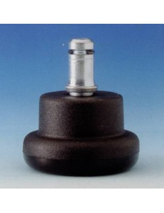 Piedini per sedie Unisit - Kit 5 piedini - nero Conf. 5 pezzi - ACCPD5