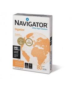 Carta A4 per archiviazione Navigator Organizer 4 fori Risma da 500 fogli - NOR0800162