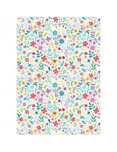 Carta da regalo Kartos Everyday 70x100 cm mod. Fiorellini Colorati Conf. 10 fogli - 18866000B10