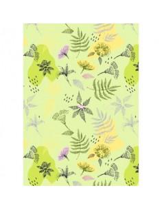Carta da regalo Kartos Everyday 70x100 cm mod. Foglie Stilizzate Conf. 10 fogli - 18866200B10