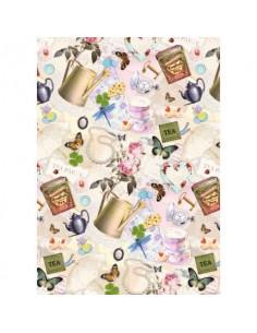 Carta da regalo Kartos Everyday 70x100 cm mod. Fantasia Femminile Conf. 10 fogli - 18828000B10