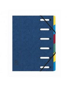 Classificatore Harmonika® 6 divisori - 24,5x32 cm blu 55062E