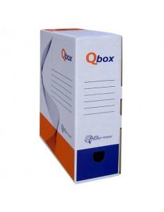 Scatola archivio in cartone QBOX 25x36 cm - dorso 10 cm bianco 8010.1600