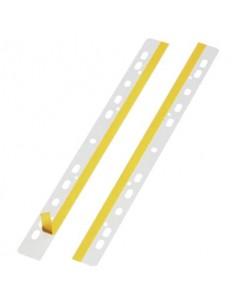 Striscie adesive a foratura universale DURABLE A4 trasparente conf. 50 pezzi 806419