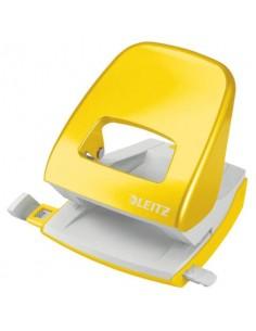 Perforatore 5008 2 fori - 30 fogli Leitz NeXXt Series giallo metallizzato 5008-10-16