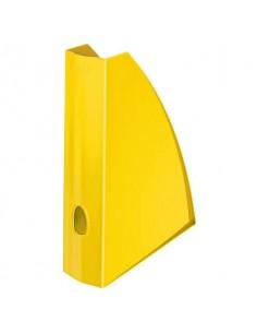 Portariviste Leitz WOW in polistirolo A4 giallo metallizzato 52771016