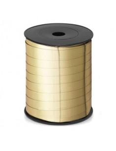 Nastro da regalo in rocchetto Brizzolari 10 mm x 250 mt oro opaco conf. 4 pezzi - B.3