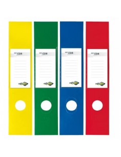Copridorso autoadesivi Sei Rota CDR 7x34,5 cm blu Conf. 10 pezzi - 58012537