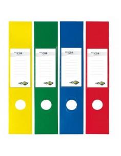 Copridorso autoadesivi Sei Rota CDR 7x34,5 cm verde Conf. 10 pezzi - 58012535
