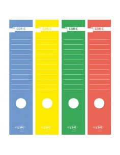 Copridorso autoadesivi Sei Rota CDR-C 7x34,5 cm verde Conf. 10 pezzi - 58012705