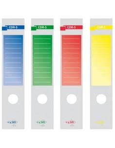 Copridorso autoadesivi Sei Rota CDR-S 7x34,5 cm giallo Conf. 10 pezzi - 58012606