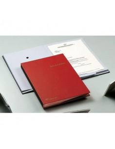 Libro Firma Fraschini 18 intercalari con fori blu 618-A-DB