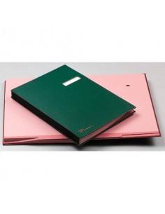Libri Firma Fraschini 14 intercalari dorso in tela blu 614-DB