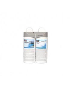 Ricarica profumatore Rubbermaid Microburst Duet Clean Sensi e freschezza 2x121 ml - Conf. 2 pezzi - 1910759
