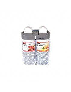 Ricarica profumatore Rubbermaid Microburst Duet Tender Fruits/Citrus 2x121 ml - conf. 2 pezzi - 1910756