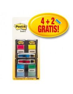 Segnapagina Post-it® 680 + Post-it® Mini 684 Freccia - PROMO PACK 4+2 - 680-P6