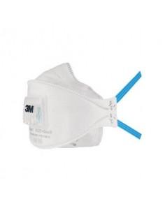 Respiratori a conchiglia con valvola 3M Aura™ bianca FFP2 - Conf. 10 pezzi - 9322+Gen3