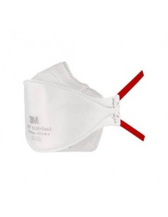 Respiratori a conchiglia senza valvola 3M Aura™ bianca FFP3 - Conf. 20 pezzi - 9330+Gen3