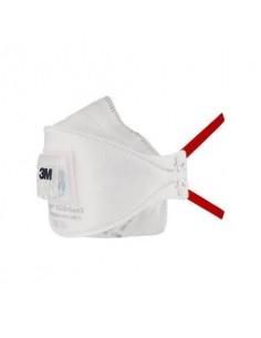 Respiratori a conchiglia con valvola 3M Aura™ bianca FFP3 - Conf. 10 pezzi - 9332+Gen3