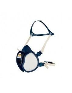 Respiratore a semimaschera 3M™ riutilizzabile classe FFABE1P3 RD blu - 4277+