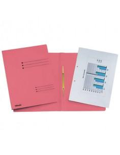 Cartelline ad aghi Esselte Rapid File 29,5x32 cm rosso 621056
