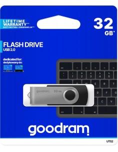 Chiavetta/Pendrive USB Goodram Twister 32GB nera USB 2.0