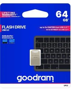 Pendrive metal GOODRAM POINT UPO3 64GB USB 3.0 - blister