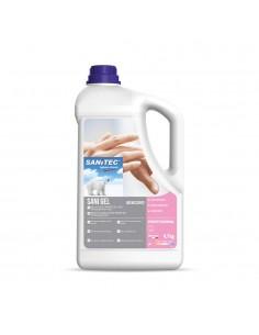Gel igienizzante mani Sanitec Sani Gel Flacone 4,7 kg - 1032