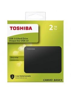 Toshiba HDD esterno 2,5'' 2 TB Nero USB 3.0 - retail box