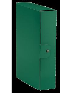 Cartelle portaprogetti Esselte C88 DELSO ORDER dorso 8cm presspan lucido verde 25x35 cm - 390388180
