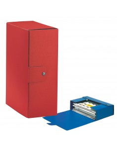 Scatole portaprogetti Eurobox Esselte - dorso 12 cm - 25x35 cm - rosso - 390332160 (conf.5)