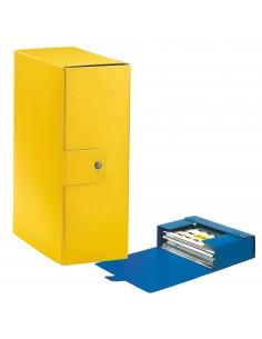 Scatole portaprogetti Eurobox Esselte - dorso 12 cm - 25x35 cm - giallo - 390332090 (conf.5)