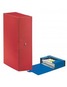 Scatole portaprogetti Eurobox Esselte - dorso 10 cm - 25x35 cm - rosso - 390330160 (conf.5)
