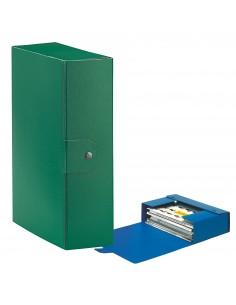 Scatole portaprogetti Eurobox Esselte - dorso 10 cm - 25x35 cm - verde - 390330180 (conf.5)
