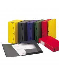 Scatola archivio Project King Mec - Dorso 6 - 26x36 cm - blu - 00023404 (conf. 5)