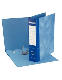 Registratore Essential G75 Blu - Dorso 8 cm - Protocollo - Esselte- 390775050 (conf.6)