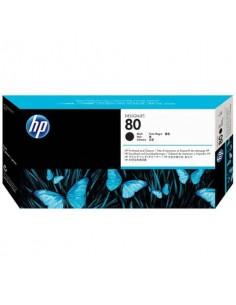 Originale HP inkjet testina di stampa dye + dispositivo di pulizia 80 - nero - C4820A