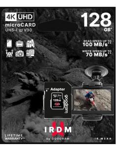 microSD 128GB CARD UHS I U3 + adapter - retail bliste