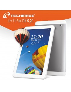 Techmade Techmadepad-10Qc Tablet Du Al Core 3G/Wifi/Gps
