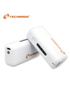 Techmade Power Bank 2600 mAh Bianco