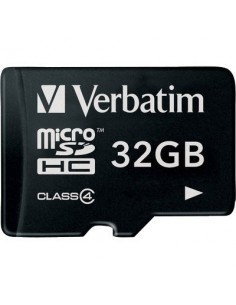Flash memory card Verbatim - Micro SDHC Class 4 - 32 GB - 44008
