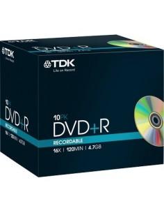 DVD TDK - Jewel case - DVD+R - 16X - t19389 (conf.10)