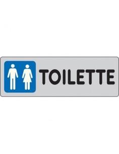 Cartelli segnaletici adesivi Pubblicentro - toilette uomini e donne - 15909660ADB0150X0050