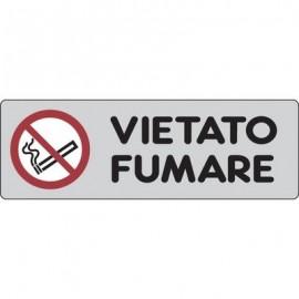 Cartelli segnaletici adesivi Pubblicentro - vietato fumare - 15900010ADB01