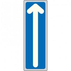 Cartelli segnaletici adesivi Pubblicentro - freccia (verticale) - 15910030ADB0150X0050