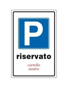 Cartelli segnaletici in alluminio Pubblicentro - 05400700ALB0300X0200