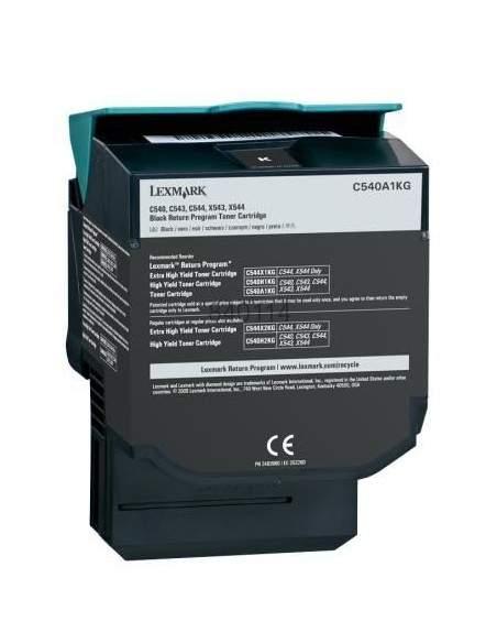 Toner Compatibili Lexmark C540H2KG C540H1KG Nero